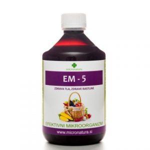EM-5 naravna zaščita rastlin