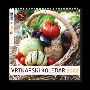 Vrtnarski koledar 2020 - Vrt Obilja setveni koledar
